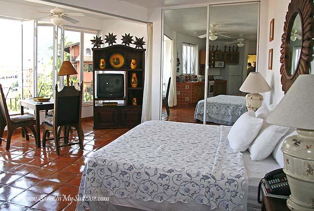 Studio bedroom at Casa Isabel