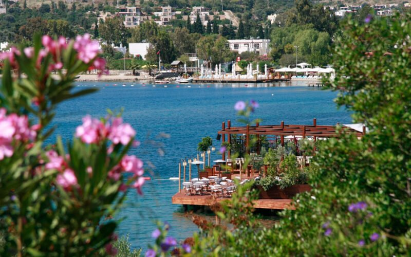 Macakizi, one of the best beach hotels in Bodrum