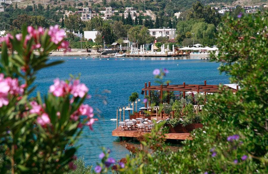 Macakizi, one of the best beach hotels in Bodrum