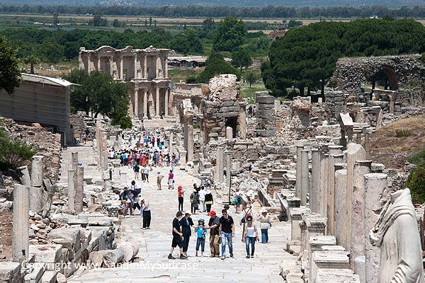 Ephesus, Turkey - Curetes Street