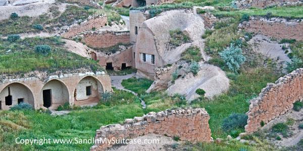 Cappadocia - rock-cut cave houses