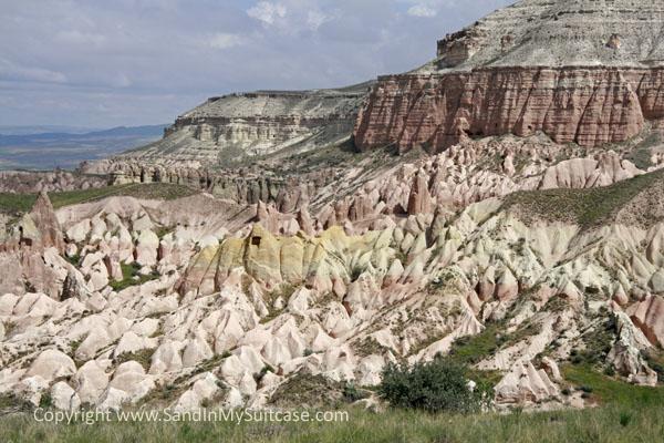 Cappadocia cave cities - Rose Valley