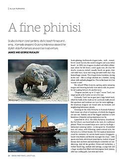 A Fine Phinisi, Alila Purnama