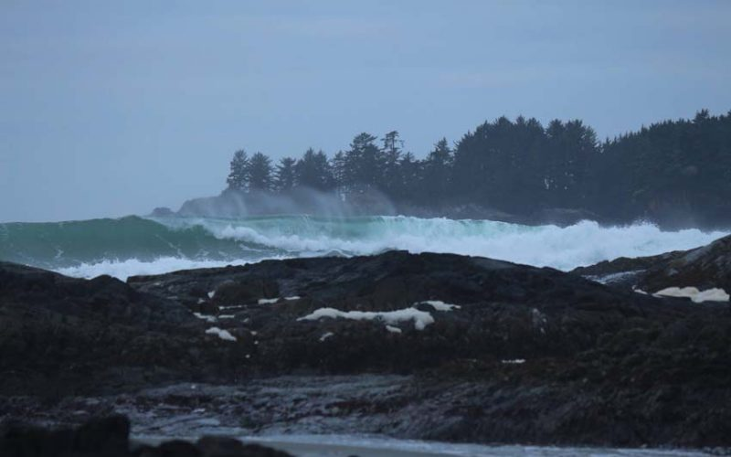 storm watching on Vancouver Island