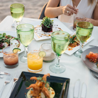 The best Puerto Vallarta restaurants include La Palapa.