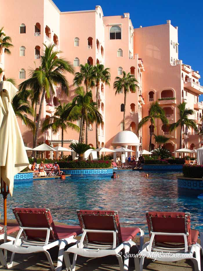 Another view of the Pueblo Bonito Rose pool