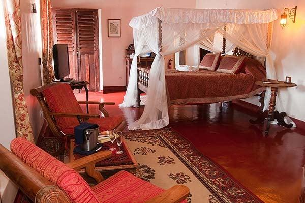 Sultana suite - courtesy Zanzibar Palace Hotel