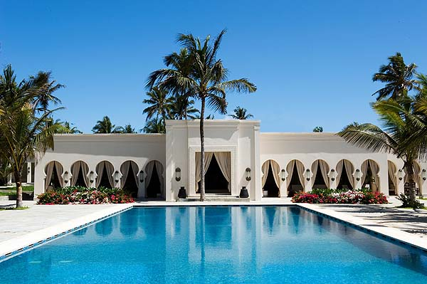 We could swim laps here - courtesy Baraza