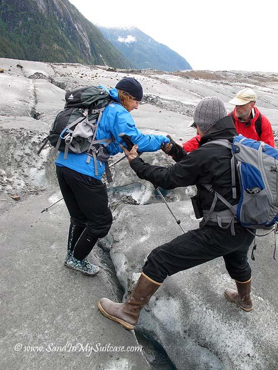 Un-Cruise Adventures Alaska - glacier hike