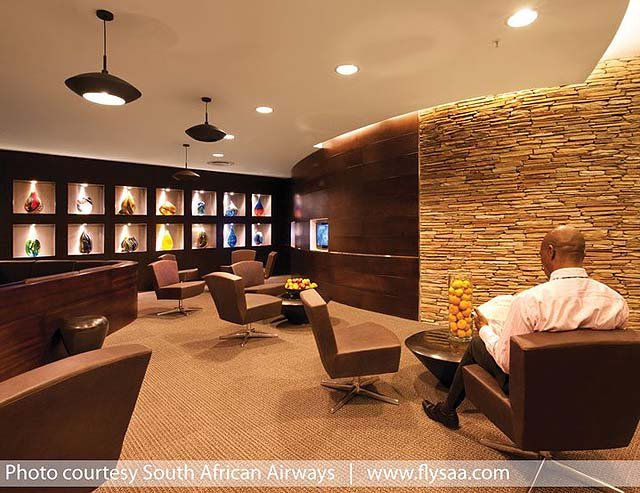 Audio Visual Room at Baobab Lounge in Johannesburg