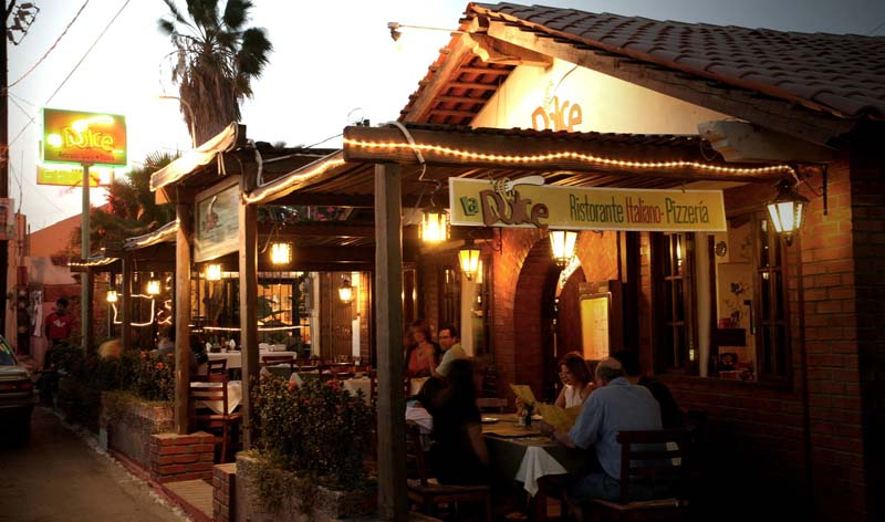 Best Italian Restaurants In Cabo San Lucas La Dolce