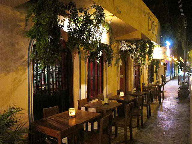 La Dolce Vita Restaurant Cabo San Lucas