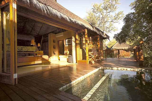 Simbambili Game Lodge review - bungalows