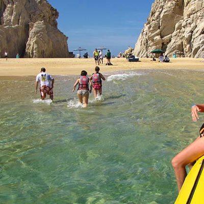 Lover's Beach in Cabo San Lucas