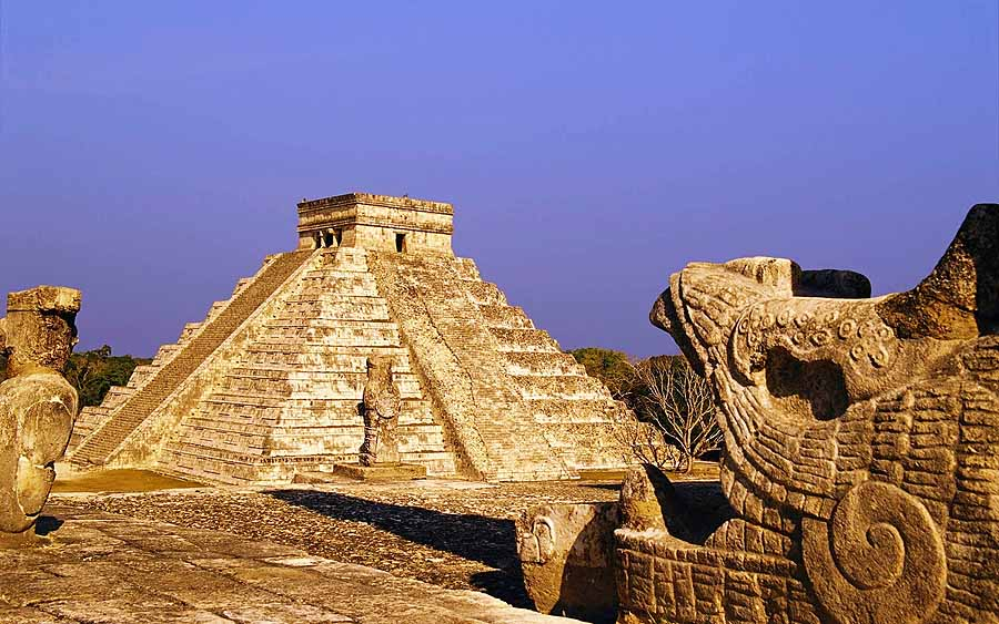 The ruins at Chichen Itza are the most famous of the Mayan ruins in the Yucatan