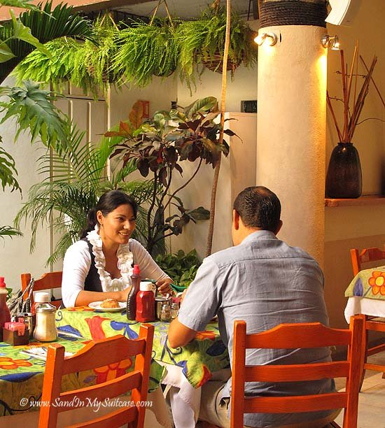 Think of all the restaurant jobs you're supporting, like the ones here in Puerto Vallarta