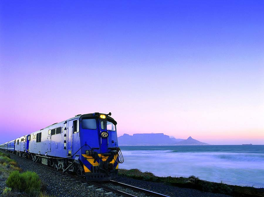 luxury blue train south africa