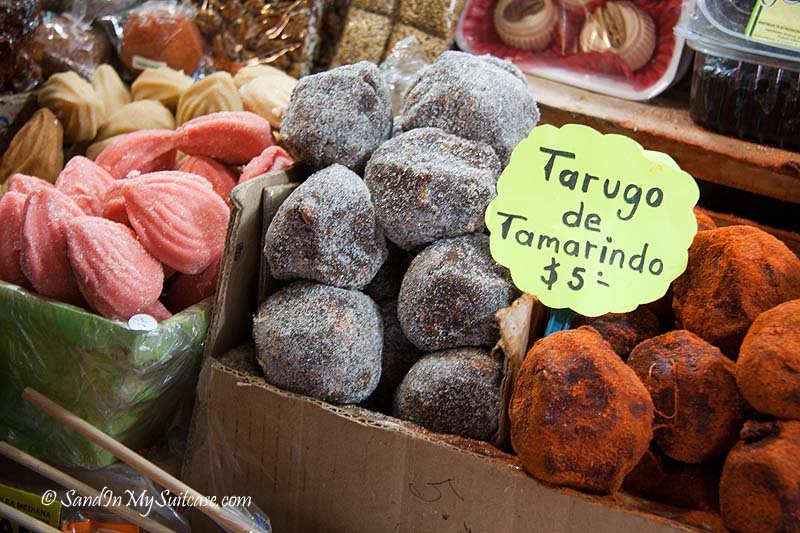 colonial towns of mexico - morelia candy