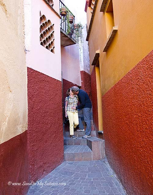 Guanajuato - Alley of the Kiss