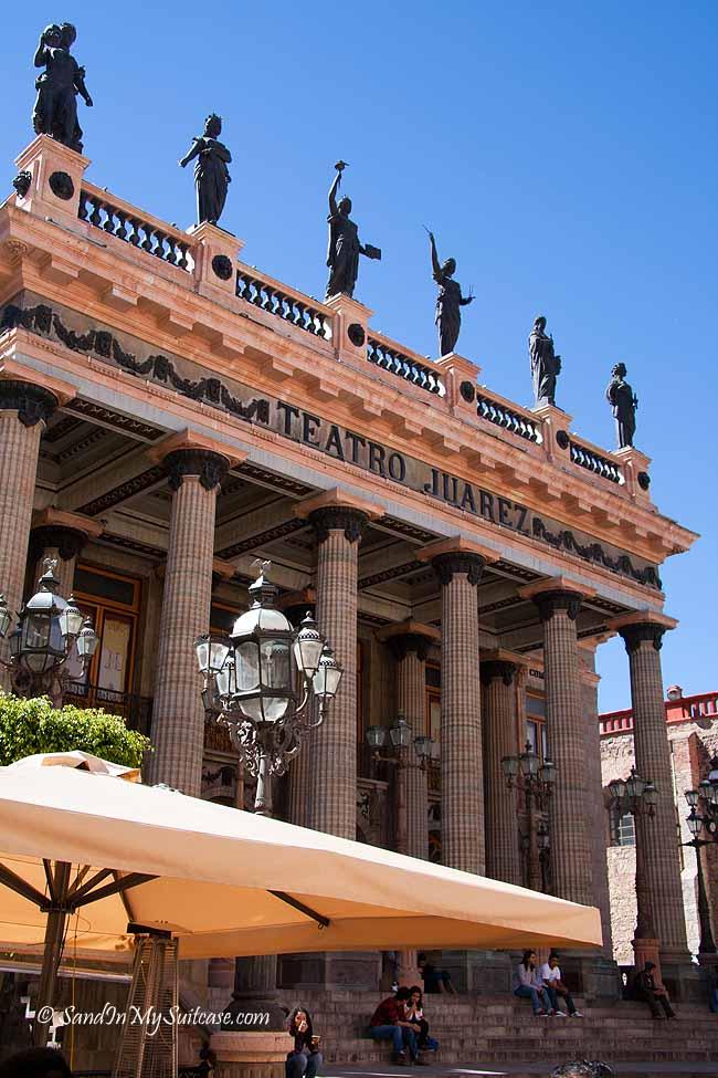 colonial towns of mexico - guanajuato