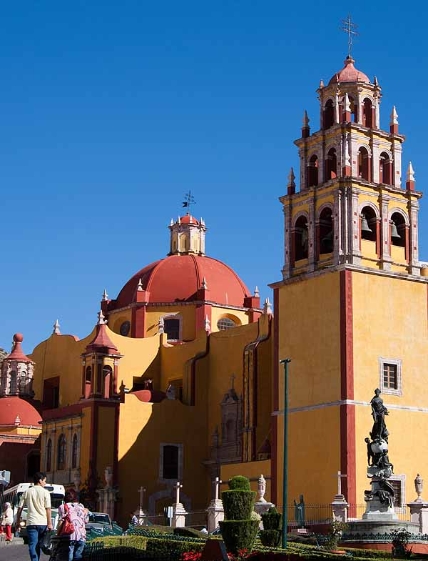 A lovely university town, Guanajuato, Mexico, is known for its colonial architecture and silver mining history.