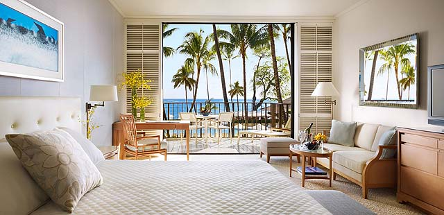 Light and bright guestrooms! photo Halekulani