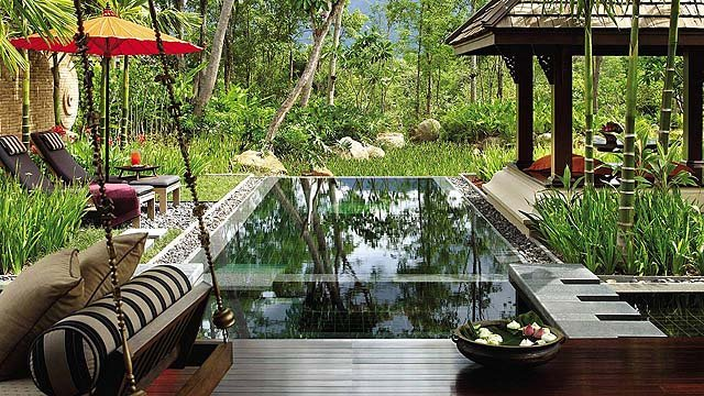 Ahhh... Serenity... One-bedroom villas have private pools like these