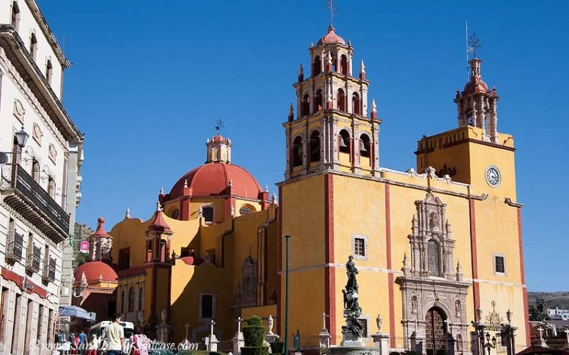 colonial towns of mexico - guanajuato