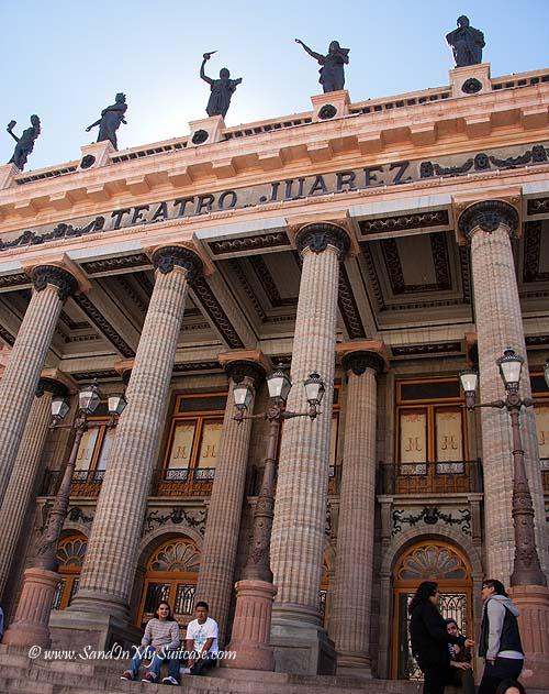 Juarez Theater in Guanajuato
