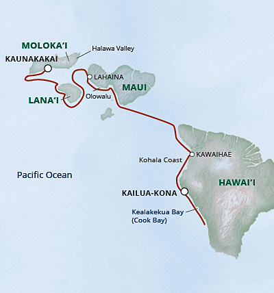 7 day cruise to Hawaii