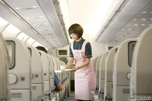 Eva Air food review