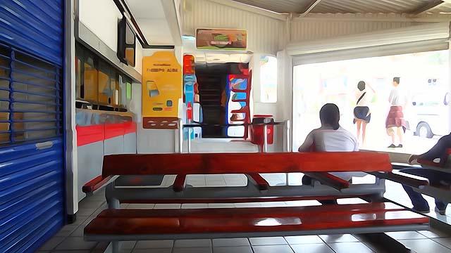 Palenque bus stop - photo Vasenka Photography