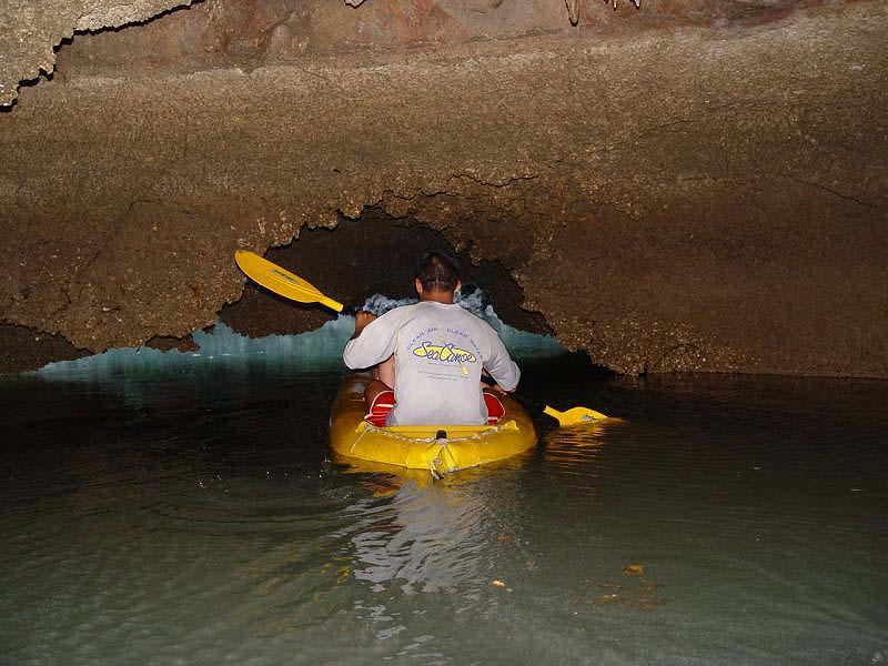sea canoeing Phang Nga Bay