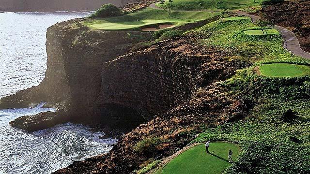 The Challenge golf course at Manele Bay - photo Four Seasons Lanai