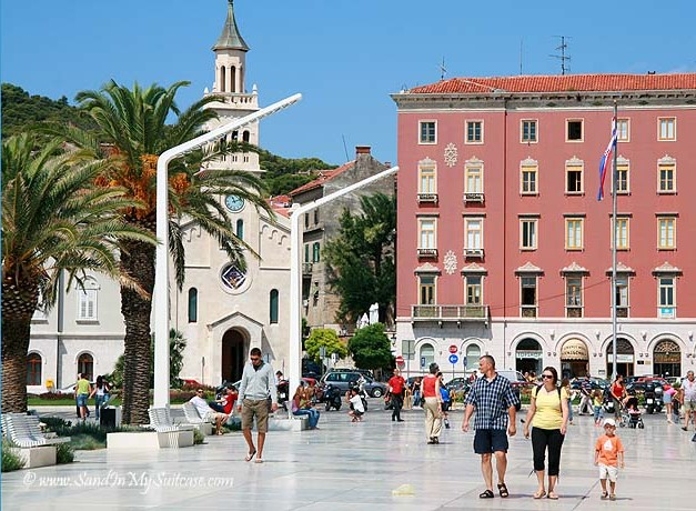 Split Diocletian's Palace - Riva promenade