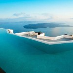 Where to stay in Santorini? Swoon over the pool at the Grace Santorini