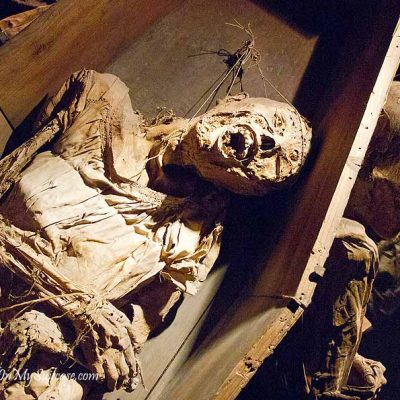 Guanajuato Mummy Museum - human mummy