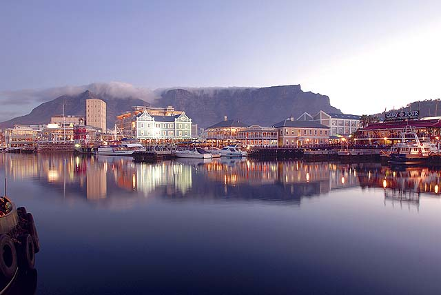 Cape Town waterfront - photo courtesy Cape Town Tourism
