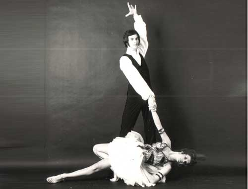 Marcel as a young dancer - photo Puri Mas