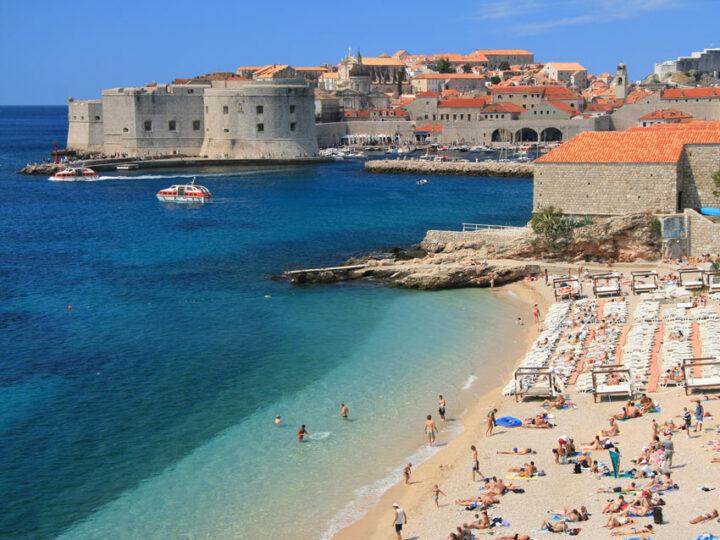 Swimming in Dubrovnik