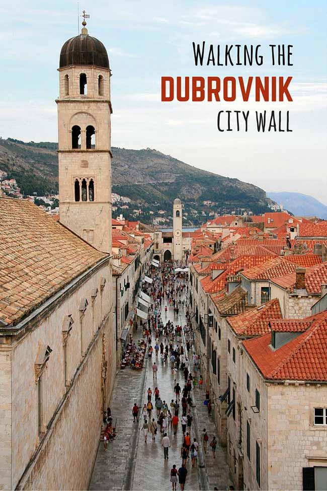 Walk the Dubrovnik city wall