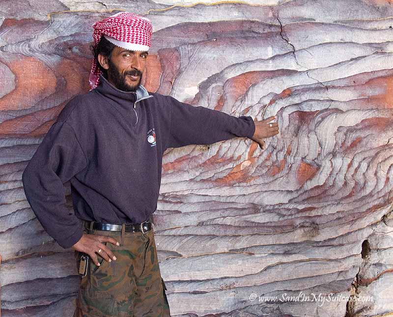 ancient Petra - bedouin