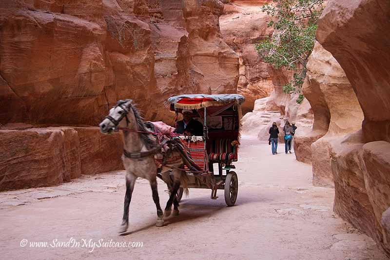 ancient Petra - Siq