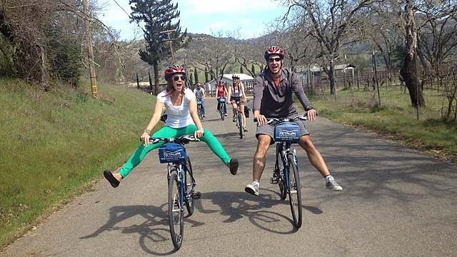 Fun on bikes - photo Getaway Adventures