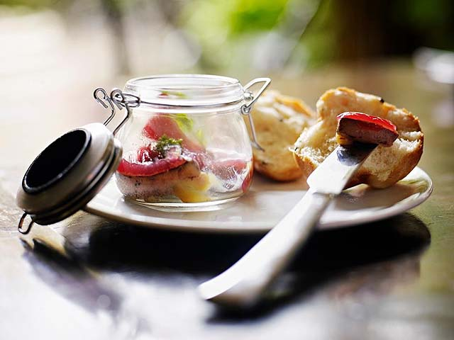 Scones at breakfast - photo Kenwood Inn and Spa
