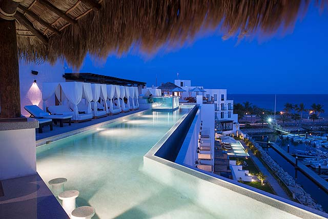Zig-zag pool - Hotel El Ganzo
