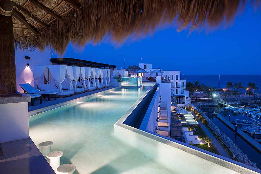 Oasis of creative cool hotel el ganzo sand in my suitcase for Rooftop swimming pool designing and planning