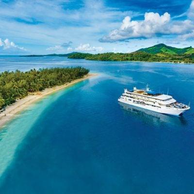 Cruising Fiji
