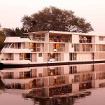"African river cruise on the elegant ""Zambezi Queen"""