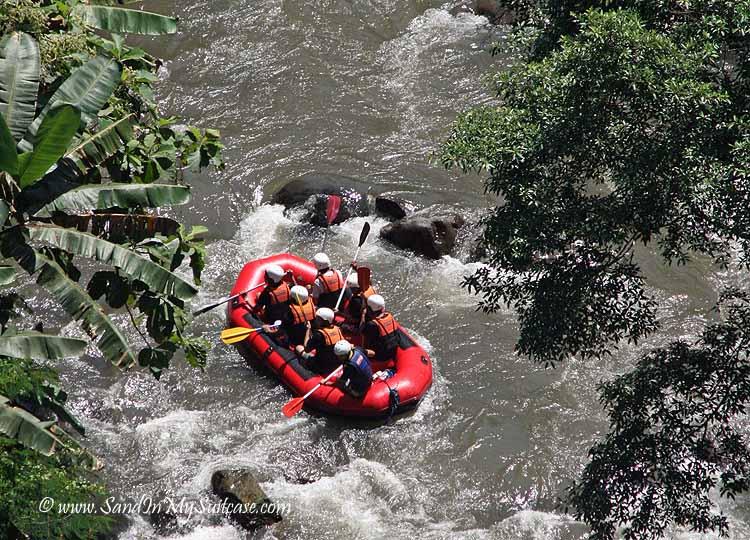 Ayung Resort Ubud - rafting